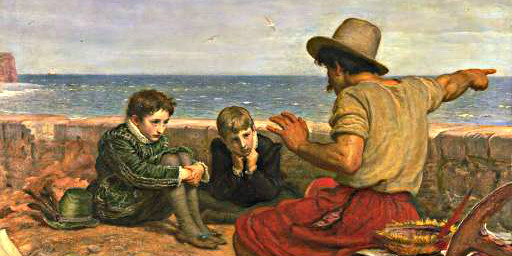 John Everett Millais: Boyhood of Raleigh
