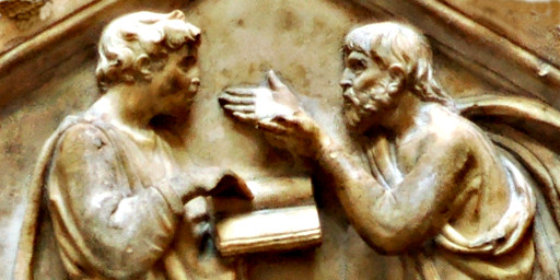 Platon und Artistoteles im Dialog
