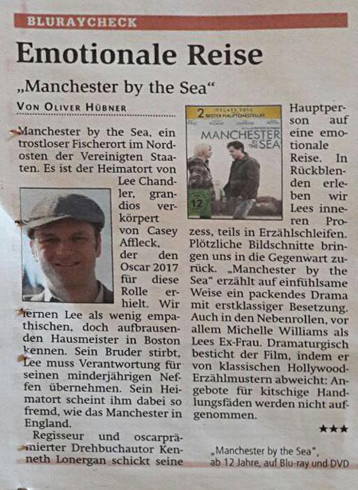 Filmkritik: Manchester-by-the-Sea, Artikel