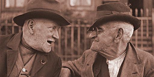 Zwei alte Männer