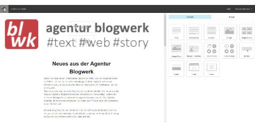 Screenshot Newsletter Konfiguration MailChimp