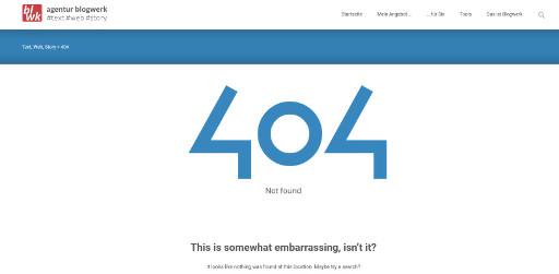 Screenshot error 404