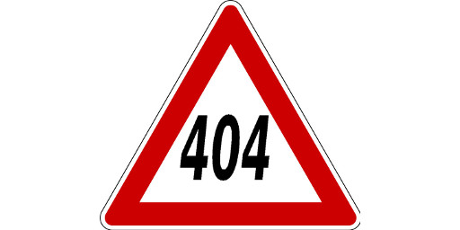 Achtung: Fehler 404