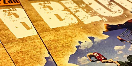 Flyer zum Blogprojekt Heimatgeschichten