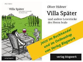 Titelseite Villa Später, Oliver Hübner